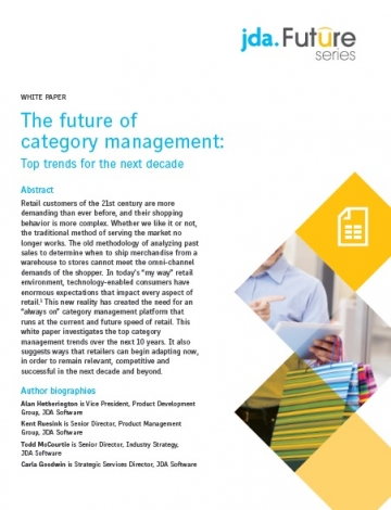 JDA_Category Management White Paper