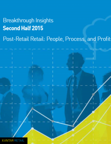 Kantar retail  breakthrought insights 2nd haff 2015
