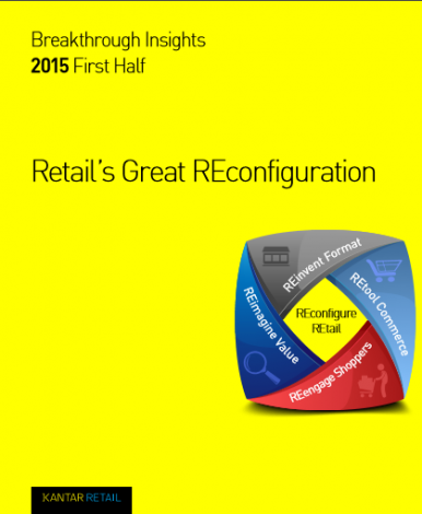 Kantar retail  breakthrought insights 1st haff 2015