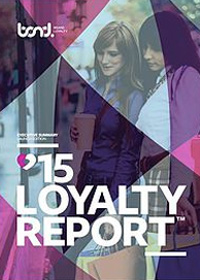 Bond brand loyalty 2015 report