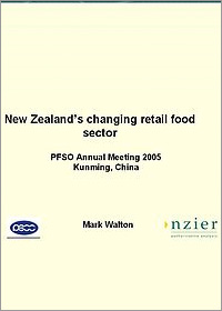 Food Retail Sector in New Zealand