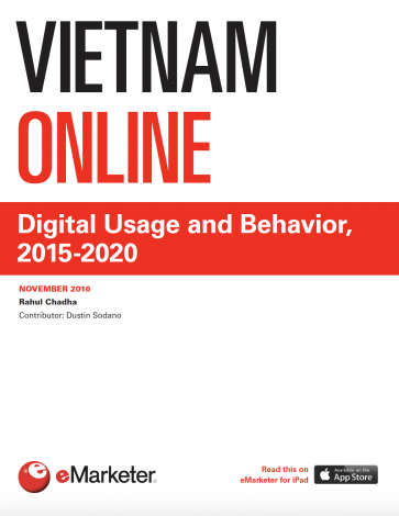 Digital Usage and Behavior, 2015-2020 Viet Nam