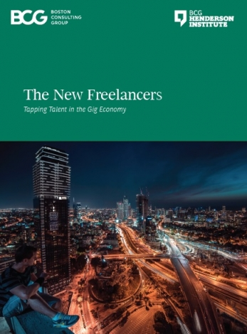 The New Freelancers - Tapping Talent In The Gig Economy